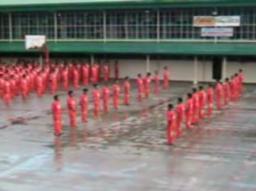 Algorytmowy japoński krok ninja - więźniowie