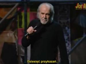 George Carlin - 10 przykazań (polskie napisy)