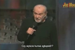 George Carlin - You All Are Diseased - polskie napisy