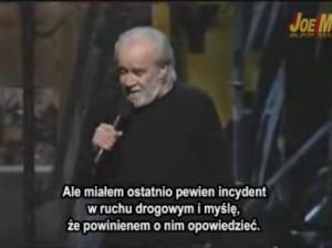 George Carlin o wypadkach drogowych