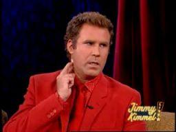 Will Farell w programie Jimmiego Kimmela