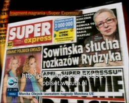"""Prowokacja: Posłuchaj jak Sowińska wykonuje polecenia """"ojca Rydzyka"""""""