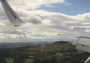 Ekstremalne lądowanie z Ryanairem