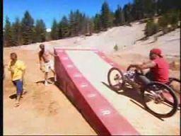 Ekstremalna jazda na wózku inwalidzkim