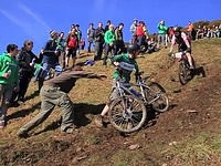 Downhill błotny