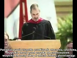 Steve Jobs -- trzy historie (polskie napisy)