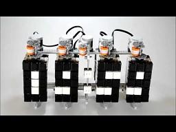 Zegar z LEGO