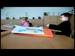 Dzieci z rosyjskiej podstawówki