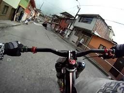 POV - Miejski Downhill
