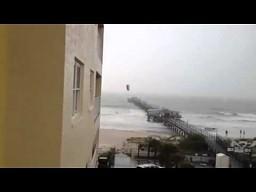 Szalony kite surfer
