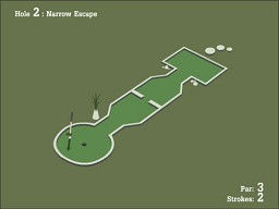 18 Hole Crazy Golf