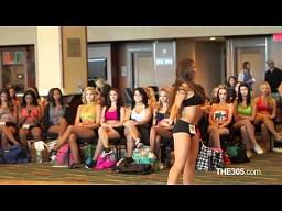 Casting na cheerleaderkę