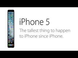 Reklama nowego iPhone 5