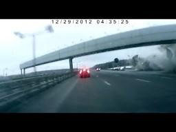 Nagranie wideo katastrofy samolotu Tu-204
