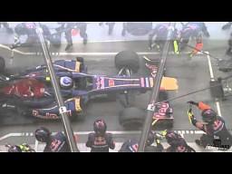 Pit-stop Ricciardo