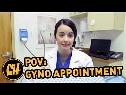 Dziewczyna u ginekologa - POV