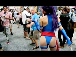 Dziewczyny z Comic-Con 2013