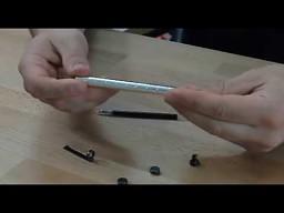 Długopis z magnesów