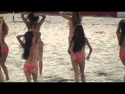 Cheerleaderki na Beach Soccer World Cup 2013