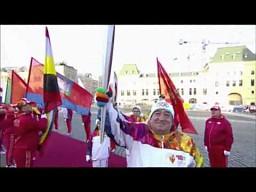 Olimpijska sztafeta w Rosji