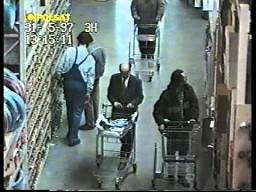 Zlodzieje w Castoramie - ukryta kamera