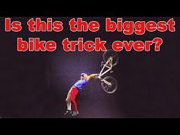 Niesamowity trik rowerowy