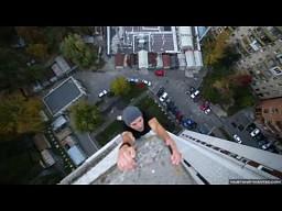 """Pierwsze wideo w historii szalonego """"wiszącego Ukraińca"""""""