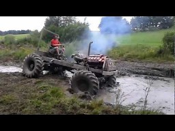 Off-road na traktorach