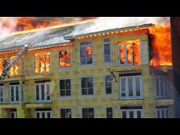 Pożar apartamentowca w Houston
