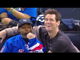 Jim Carrey wygłupia się ze Spikiem Lee