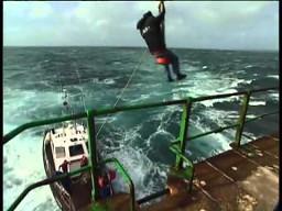 Zmiana pracownika latarni morskiej