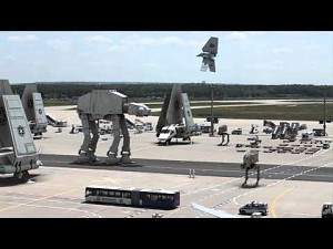 Wojska Imperium na lotnisku