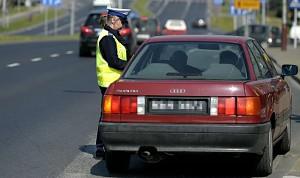 Policja zatrzymuje za przekroczenie prędkości