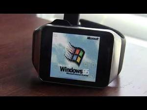 Windows 95 uruchomiony na smartwatchu
