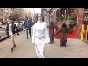 Dziesięciogodzinny spacer księżniczki Leii