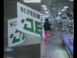 Reklama supermarketu z 1993 roku