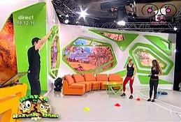 Poranna gimnastyka w telewizji