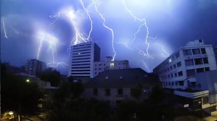 Burza w Chile