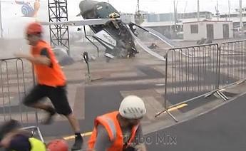Kompilacja wypadków z helikopterami