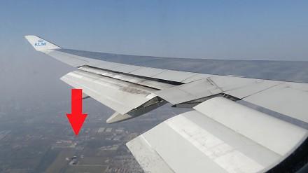 Bliskie spotkanie drona z samolotem rejsowym
