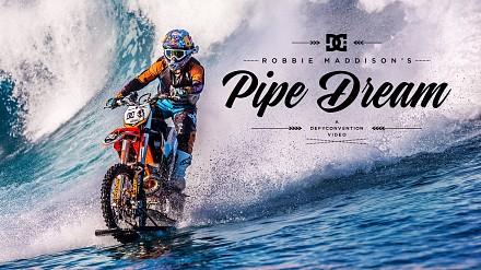 Surfowanie po Pacyfiku na... motocyklu