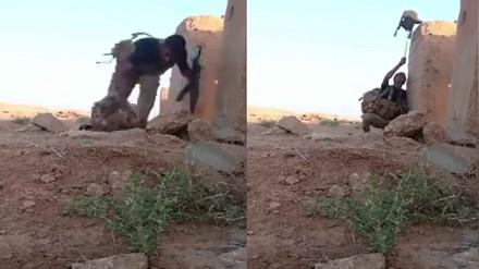 Jak żołnierz przechytrzył snajpera