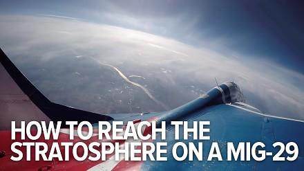 Podróż do stratosfery samolotem MIG-29