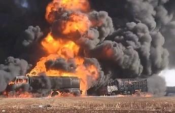 Rosyjskie lotnictwo zbombardowało konwój ropy ISIS