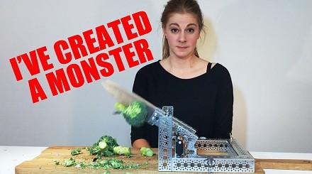 Stworzyła potwora - maszynę do krojenia
