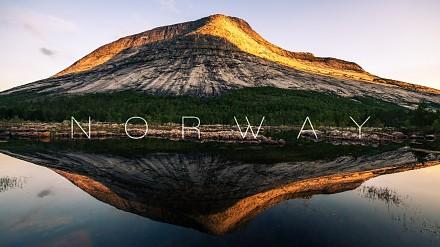 Norwegia w rozdzielczości 8K