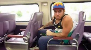 Niecodzienne siedzenia w australijskich pociągach