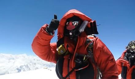 Zapierający dech w piersiach widok ze szczytu K2