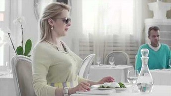 Rosyjska reklama mozzarelli