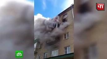 Wyrzucił żonę i dzieci przez okno by ich ratować